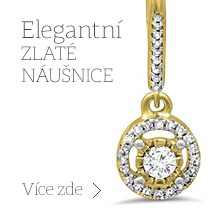 Zlato Náušnice - Náušnice Bílé Zlato Diamanty