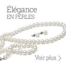 Élégance en perles