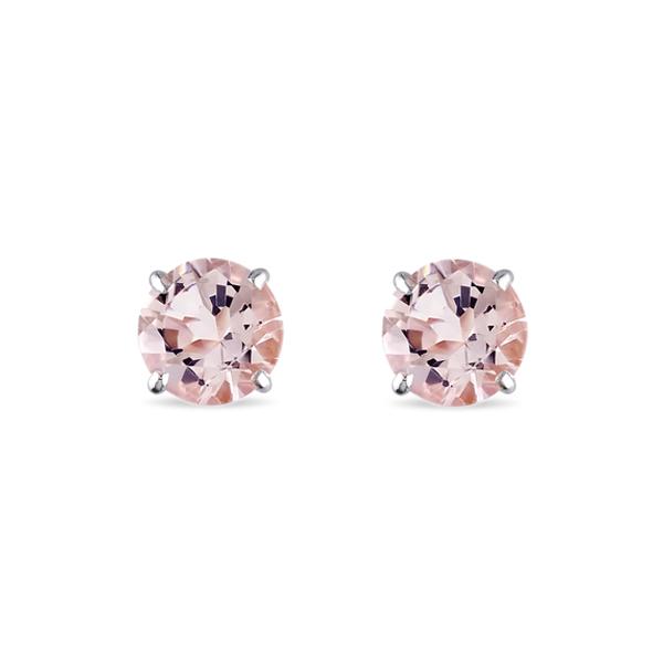 https://www.klenota.co.uk/White-Gold-Earrings/Morganite-stud-earrings-in-14kt-gold