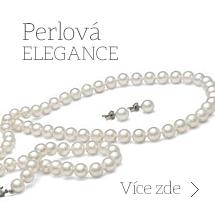 Perlové prsteny, Perlové náušnice, Perlové náhrdelníky, Perlové přívěšky, Perlové náramky, Perlové soupravy, Perly Akoya, Tahitské perly a Perly Jížního Pacifiku.