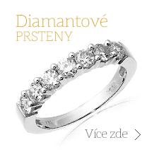 Prsteny s diamanty, Diamantové prsteny, Snubní prsteny, Zásnubní prsteny, Kombinace snubního a zásnubního prstenu, Prsteny s diamantem a Koktejlové prsteny