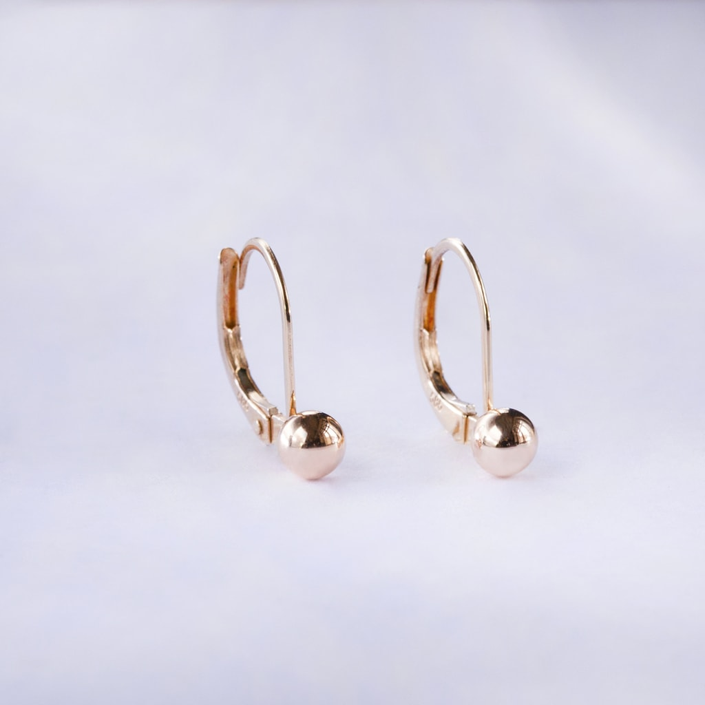 Children's 10k or 14k Gold Baby Huggies Hoops Earrings x9 Mm (Yellow, White, or Pink) from $ 35 50 Prime. out of 5 stars Children Earrings by Lovearing. 10k Yellow Gold Basket Round CZ Cubic Zirconia Solitaire Children Stud Screwback Baby Girls Earrings. from $ 19 00 Prime.