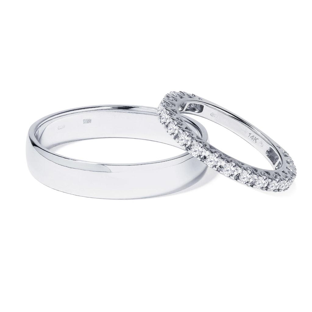 Zlate Snubni Prsteny S Diamantem Klenota