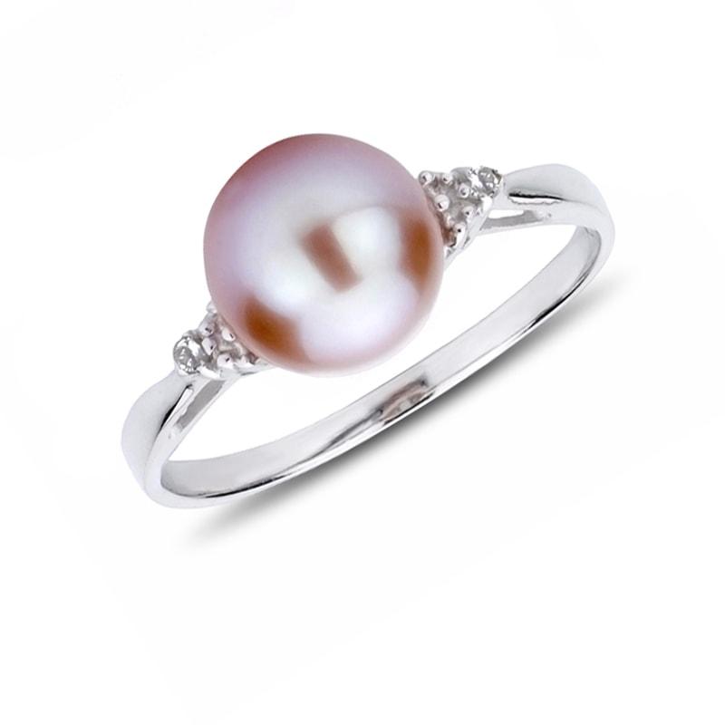 klenota silberring mit diamanten und perle perlen ringe schmuck mit liebe gemacht. Black Bedroom Furniture Sets. Home Design Ideas