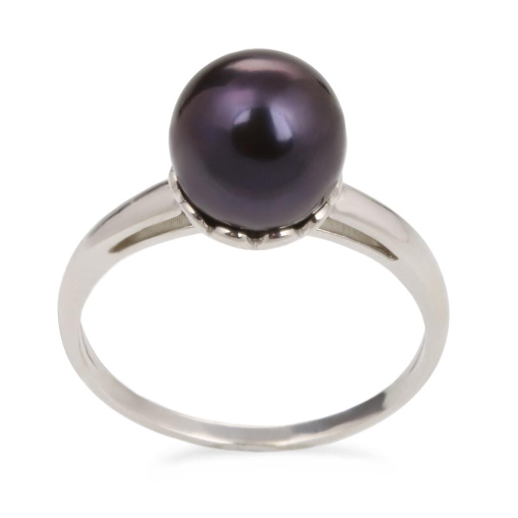 klenota silberring mit perle perlen ringe schmuck. Black Bedroom Furniture Sets. Home Design Ideas