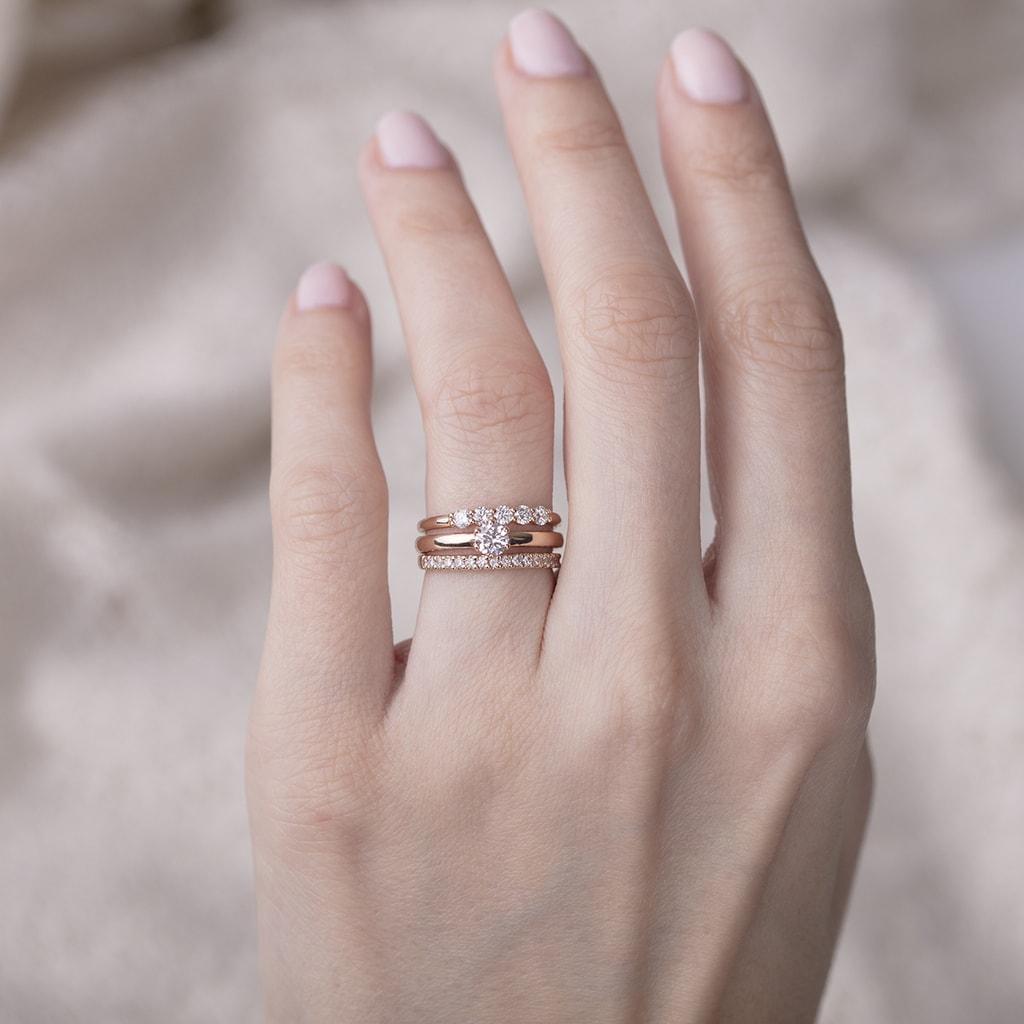 Diamond Wedding Ring | KLENOTA