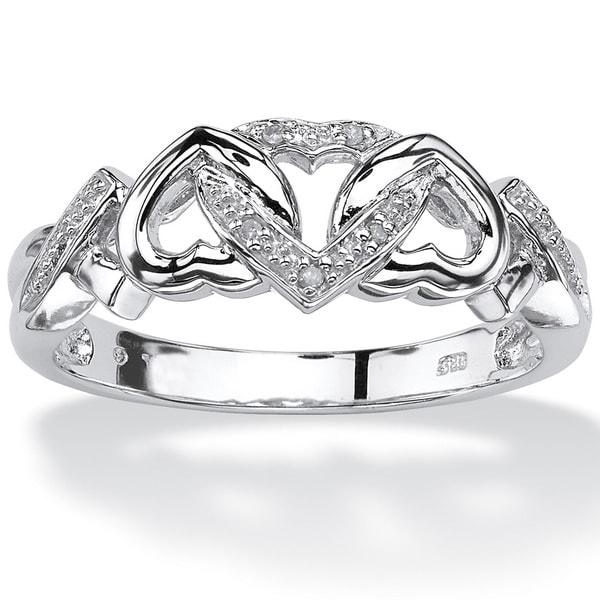 klenota diamant ring herz aus silber ringe silber schmuck mit liebe gemacht. Black Bedroom Furniture Sets. Home Design Ideas