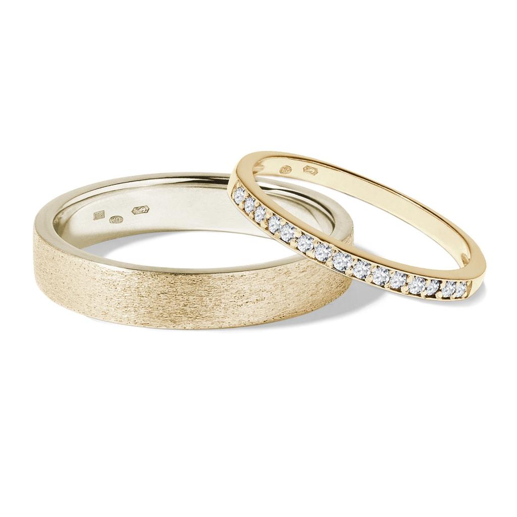 Briliantove Snubni Prsteny Ze Zlata Klenota
