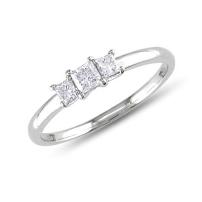 klenota silberring mit drei diamanten ringe diamant schmuck mit liebe gemacht. Black Bedroom Furniture Sets. Home Design Ideas