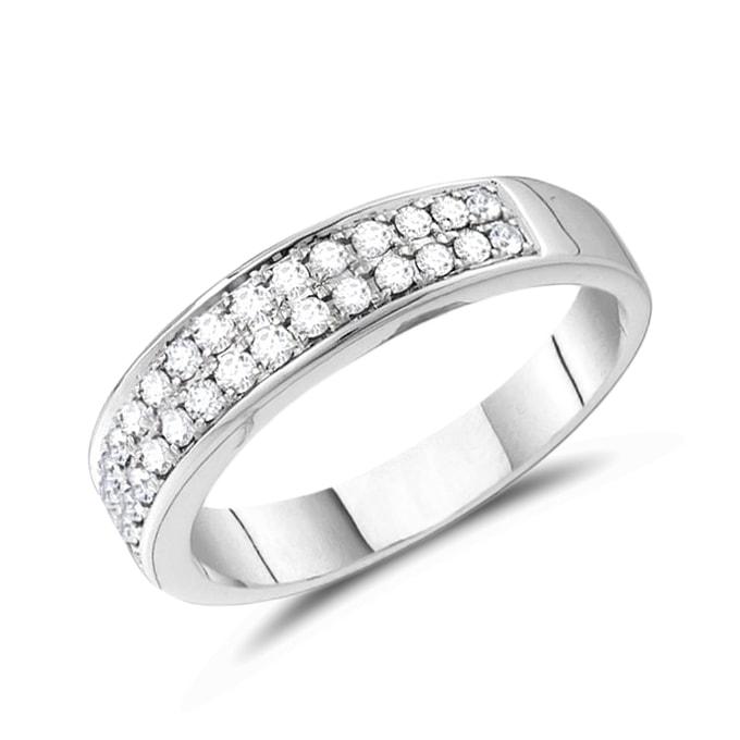 Diamantringe weißgold  KLENOTA | Herren Diamantring aus Weißgold | Ringe Herren | Schmuck ...