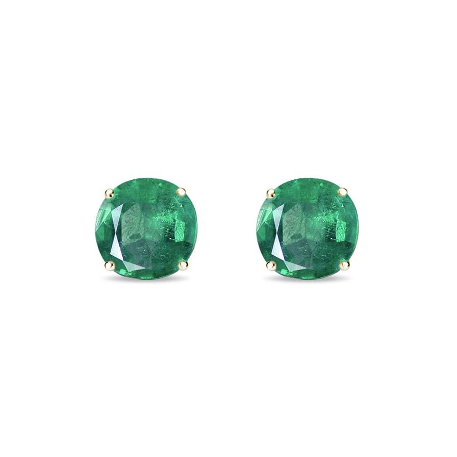 Zlaté náušnice se smaragdy  e1b0f13c91d