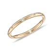 DIAMOND RING IN 14KT YELLOW GOLD - RINGS FOR HER - WEDDING RINGS