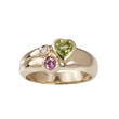 GEMSTONE RING IN 14KT YELLOW GOLD - YELLOW GOLD RINGS - RINGS