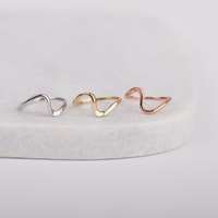Set of gold rings - Gold rings