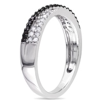 DIAMOND RING STERLING SILVER - DIAMOND RINGS - RINGS
