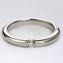 Gold ring with diamonds - Rings for Her
