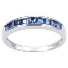 RING WITH BLUE SAPPHIRE - SAPPHIRE RINGS - RINGS
