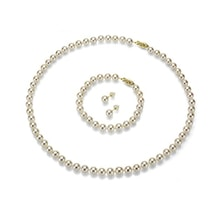 Akoya pearl jewelry set - Akoya Pearls Jewellery
