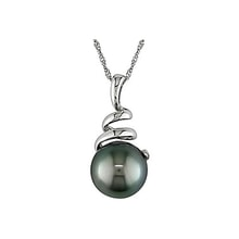 Necklace with Tahitian pearl - Pearl pendant