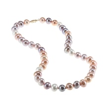 PASTEL PEARLE NECKLACE - PEARL NECKLACE - PEARLS