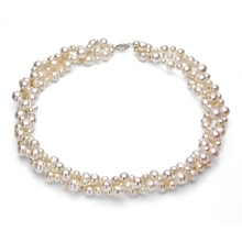 Necklace of white pearls - Pearl necklace
