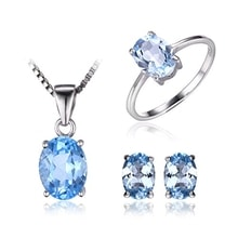 SET OF JEWELRY WITH TOPAZ - JEWELLERY SETS - JEWELLERY BY GEMSTONE
