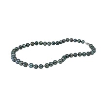 Necklace of Tahitian pearls and gold - Pearl necklace
