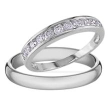 DIAMOND ENGAGEMENT RINGS - DIAMOND WEDDING RINGS - WEDDING RINGS WITH GEMSTONES