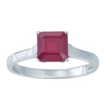 RING WITH RUBY - RUBY RINGS - RINGS