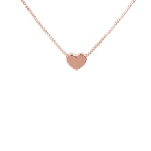 Heart necklace in rose gold - Heart Pendants