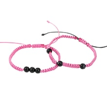 SET OF TWO BRACELETS WITH ONYX - JEWELLERY SALE