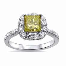 GOLD DIAMOND ENGAGEMENT RING - ENGAGEMENT RINGS WITH COLOURED DIAMANTÉ - ENGAGEMENT RINGS WITH GEMSTONES