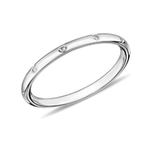 Diamond ring in 14kt white gold - Rings for Her