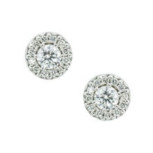 GOLD DIAMOND EARRINGS - DIAMOND EARRINGS - EARRINGS