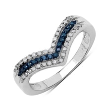 TWO COLOR DIAMOND RING - DIAMOND RINGS - RINGS