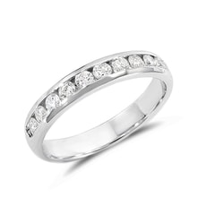 Men's diamond anniversary ring in 14kt gold - Rings for Him