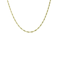 Chain of yellow gold - Gold Curb Chains