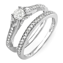 DIAMOND WEDDING AND ENGAGEMENT RING - JEWELLERY BY GEMSTONE