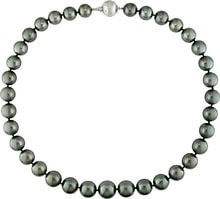 NECKLCE MADE OF TAHITIAN PEARLS - PEARL NECKLACE - PEARLS