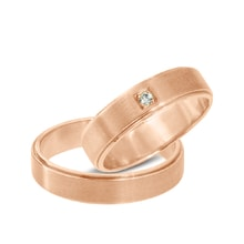 Rose gold wedding rings - Rose Gold Rings