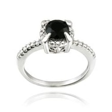 Sterling silver ring with spinel - Jewellery Sale