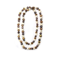 Colored beads necklace - Pearl necklace