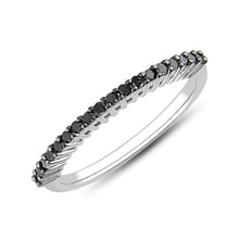STERLING SILVER RING WITH DIAMONDS - JEWELLERY BY KLENOTA