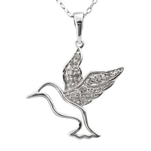 DIAMOND PENDANT HUMMINGBIRD - DIAMOND PENDANTS - PENDANTS