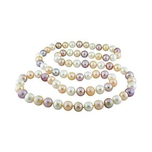 Pastel pearl necklace - Pearl necklace