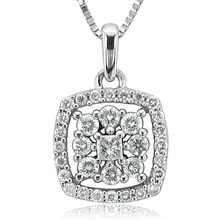 DIAMOND PENDANT IN WHITE GOLD - DIAMOND PENDANTS - PENDANTS