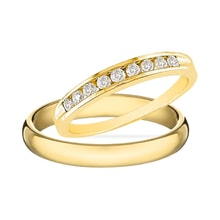 WEDDING RING WITH DIAMONDS - DIAMOND WEDDING RINGS - WEDDING RINGS