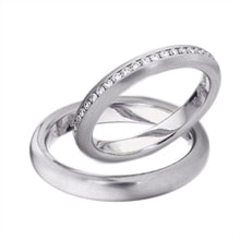 Wedding ring in white gold - Diamond Wedding Rings