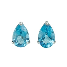 TOPAZ EARRINGS - DROPS - TOPAZ EARRINGS - EARRINGS