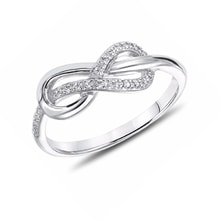 """Infinity"" Sterling silver ring - Sterling Silver Rings"
